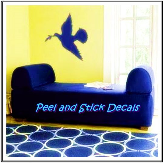 Cute Dove Wall Art and Décor http://www.peelnstickdecals.com/products/peacful-dove