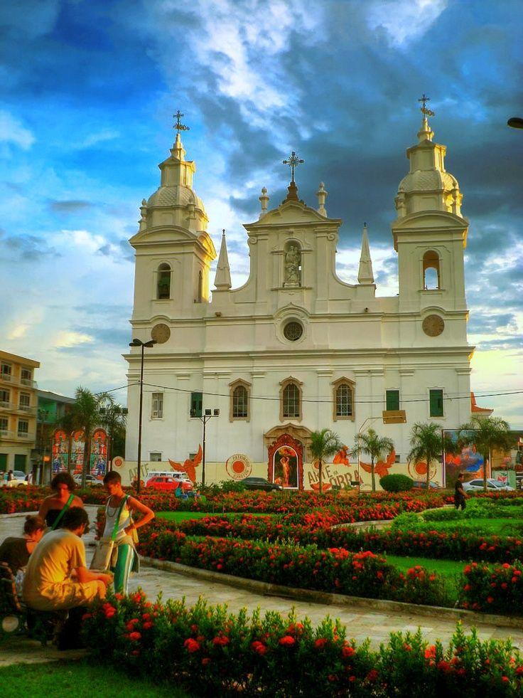Church in Belem, Para - Brazil