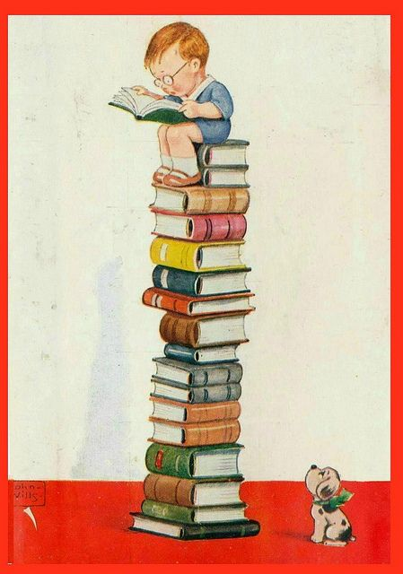Read what you love. Love to read.