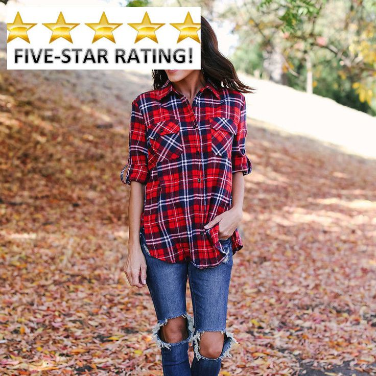 Fashion Casual Womens Ladies Shirts Summer Half Sleeve Shirt Casual Plaid Blouse #Doesnotapply #Blouse #Casual
