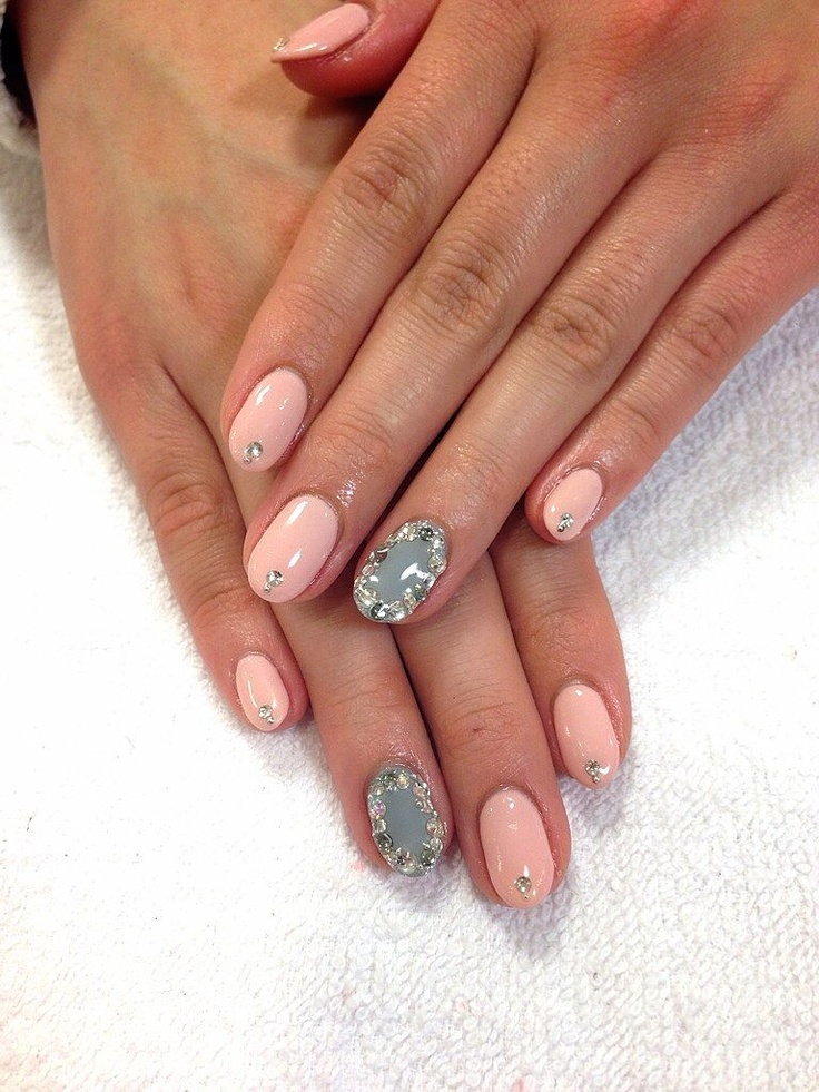 1000 images about negle on pinterest hot pink almond for Acqua nail salon