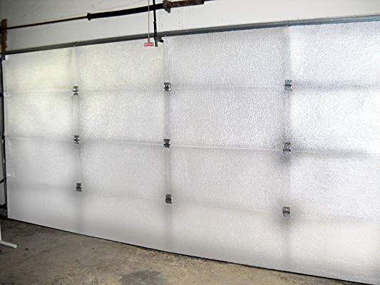 Nasa Tech White Reflective Foam Core 2 Car Garage Door Insulation Kit 16ft Wide X 8ft H With Images Garage Door Insulation Kit Garage Door Insulation Garage Door Design