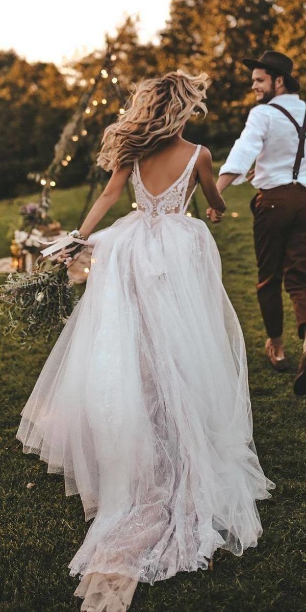 30 rustikale Brautkleider für Inspiration ❤️ …