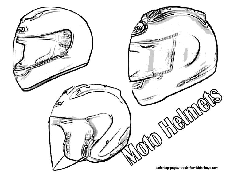 Dirt bike boots coloring pages sketch coloring page for Motorcycle helmet coloring pages