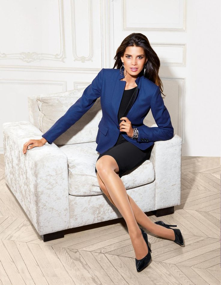Dressing for work - try blazers and skirt suits and don't forget the heels!