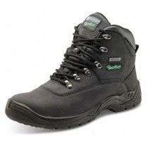 Click Traders Steel Toe Cap S3 Thinsulate Boots Black