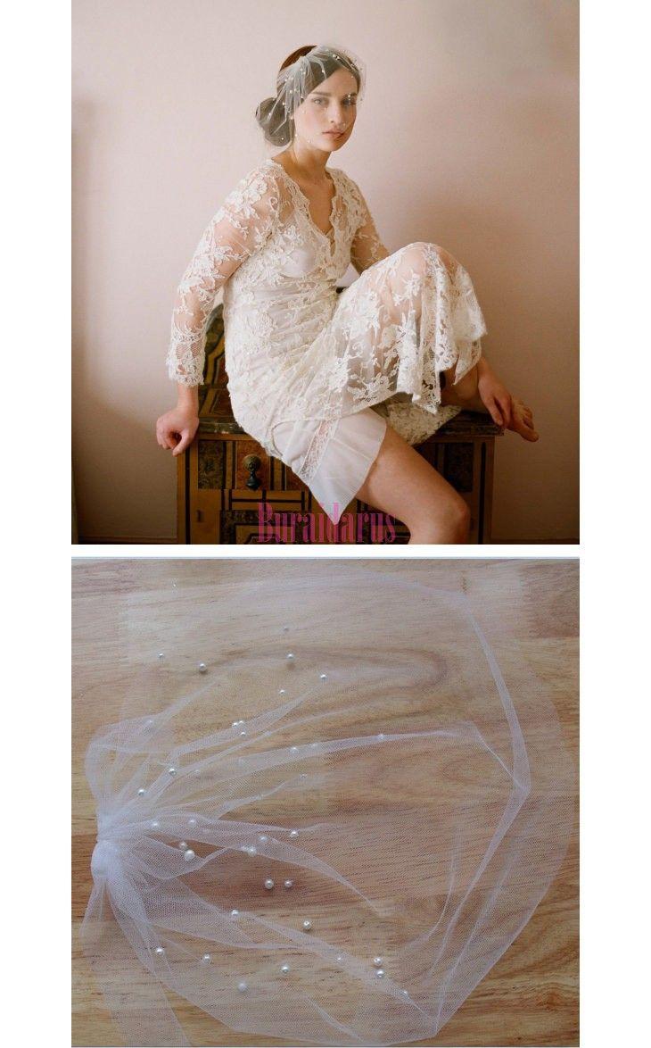 ウェディングベール ショート丈 http://www.buraidarus.com/wedding-veil/p-88.html