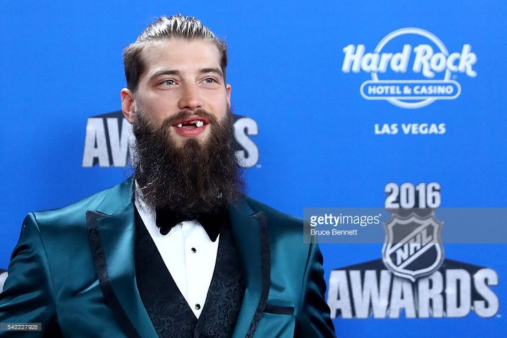 Brent Burns of the San Jose Sharks attends the 2016 NHL Awards at the Hard Rock Hotel & Casino on June 22, 2016 in Las Vegas, Nevada.