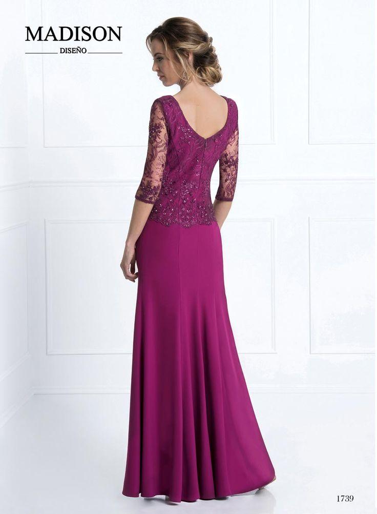 1498 best vestidos images on Pinterest | Block dress, Bridal gowns ...