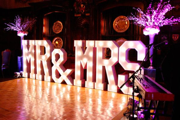 Hire giant light up letters to create a spectacular, illuminated centrepiece at your wedding, corporate event or party. Impressive 5ft light up letters