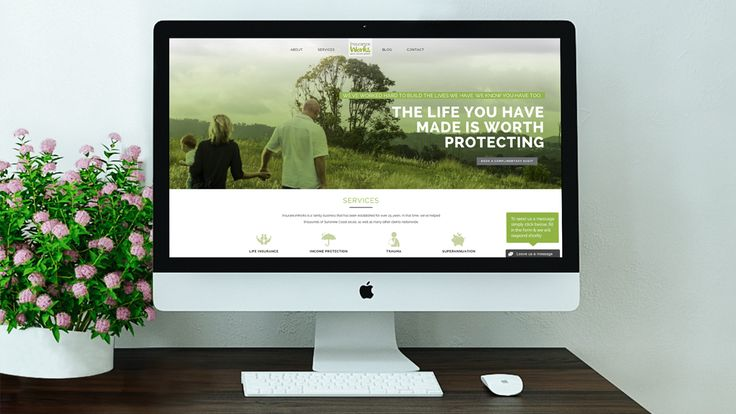 Insurance Works website design by what the fox