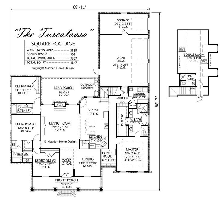 Madden home design house plans for Madden house plans