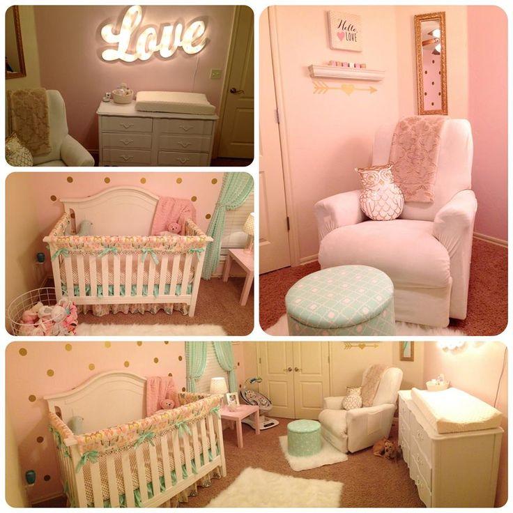 Juliet's nursery finished!