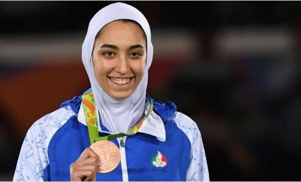 Kimia Alizadeh Zenoorin becomes the first Iranian woman to win an Olympic medal http://bbc.in/2b8WC1c اولین مدال #زنان #ایران درتاریخ #المپیک #کیمیاعلیزاده گرفت در #تکواندو