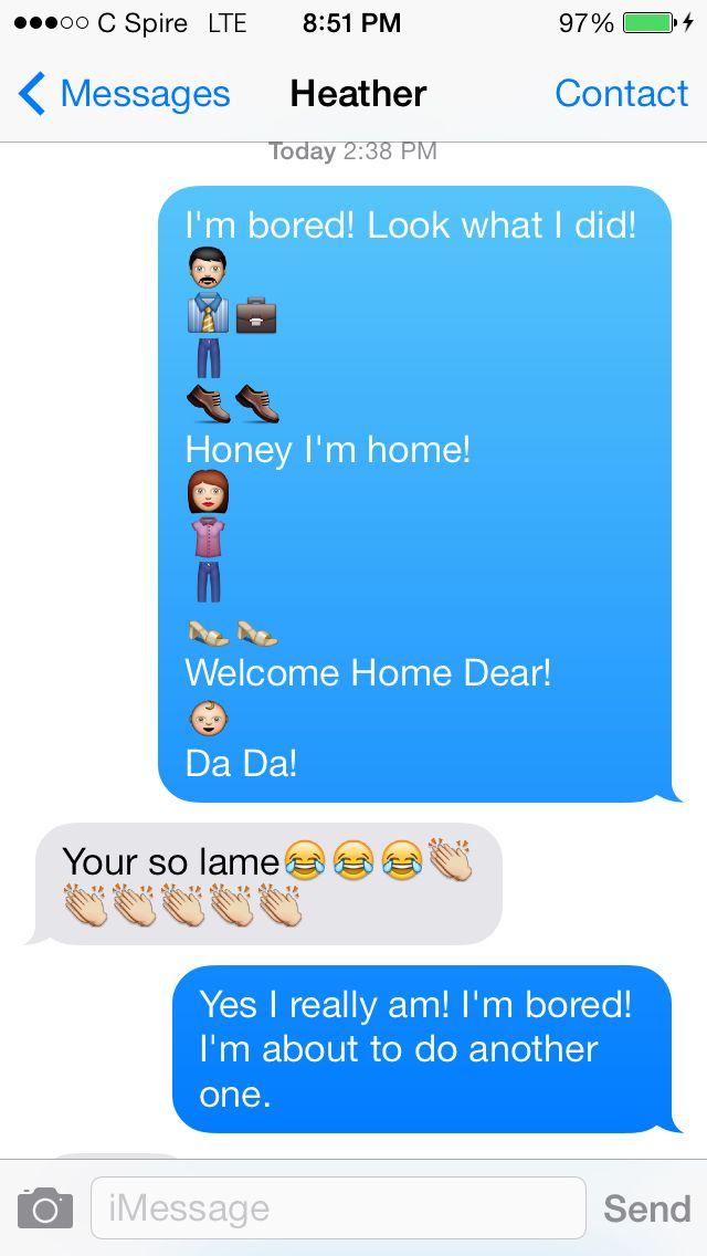 The 25+ best Emoji texts ideas on Pinterest | Funny emoji texts ...