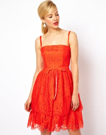 1000 ideas about Orange Lace Dresses on Pinterest #2: 1ed cdcee7bd5f653c0735bc308c