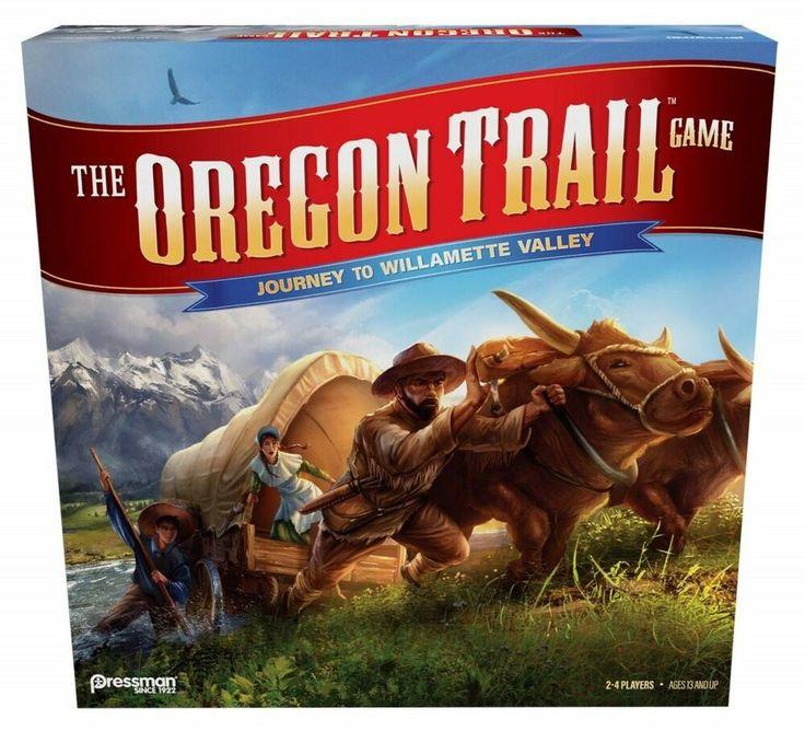 Oregon trail journey to willamette valley family board