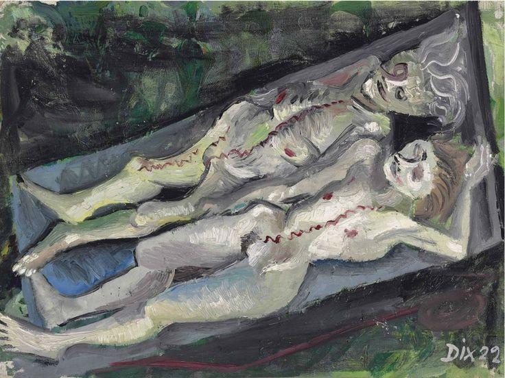 Otto Dix - Anatomie Dresden-Friedrichstadt (1922)
