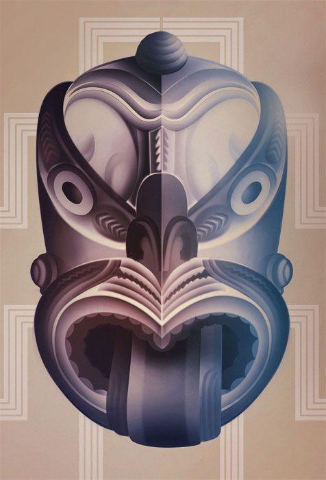 New Zealand: Andy Art, Tiki Stamps, Australian Art, Zealand Stamps, Stamps Artworks, Maori Art, Art Galleries, New Zealand, Exploring Newzealandaustralia