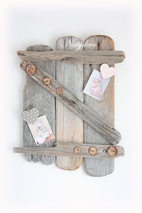 Volet en bois flott bois flott pinterest d coration for Bois flottes decoration