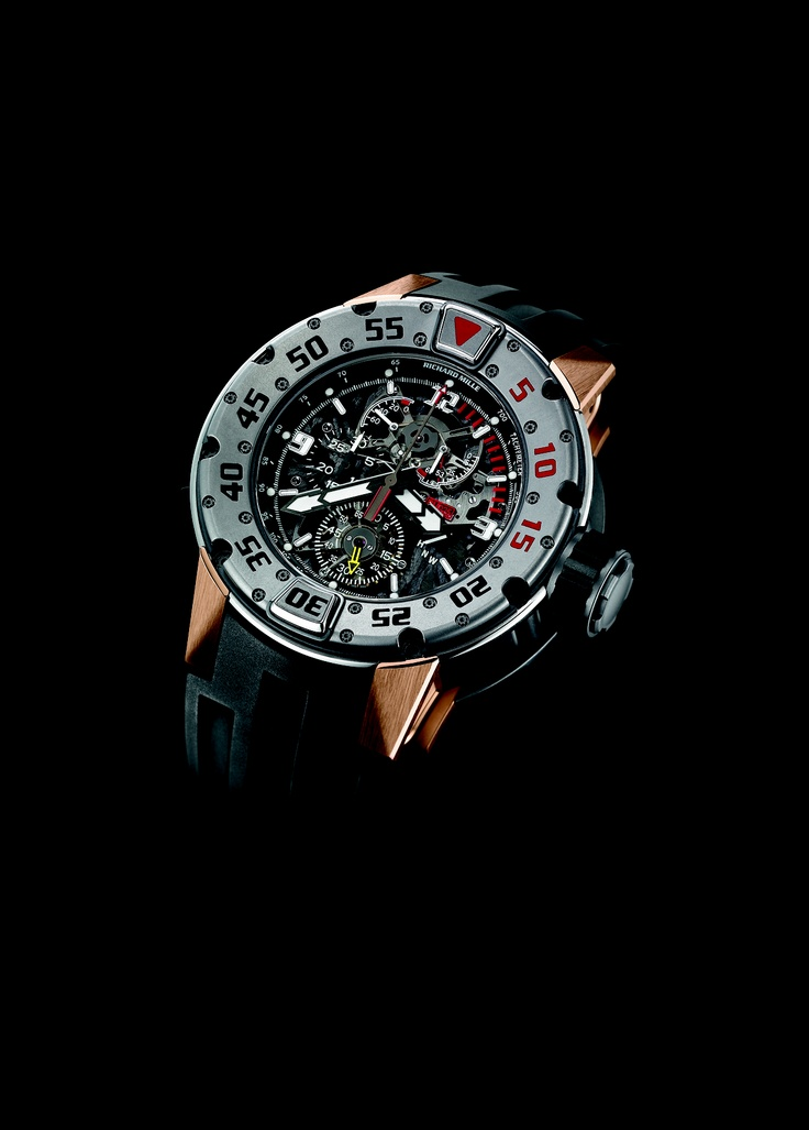 Richard Mille RM 025 Chronograph Diver's watch front 2