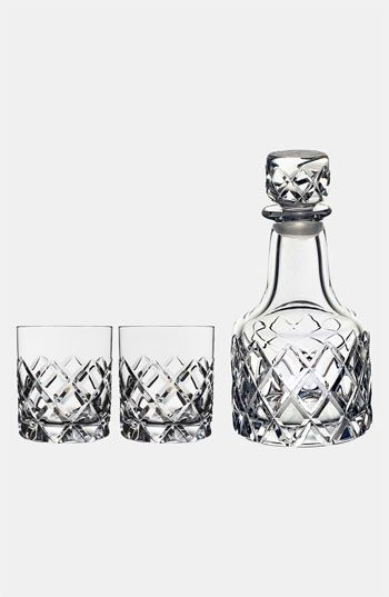 Orrefors+'Sofiero'+Whiskey+Decanter+Set+available+at+#Nordstrom