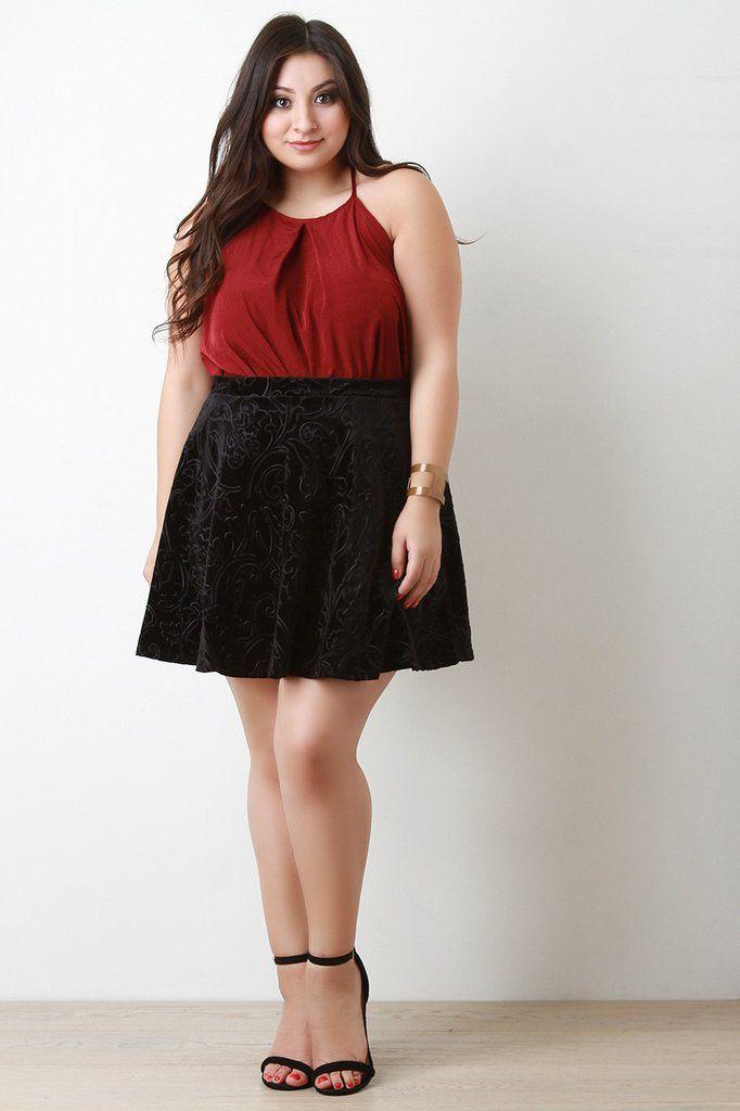 Plus Size Short Mini Dresses