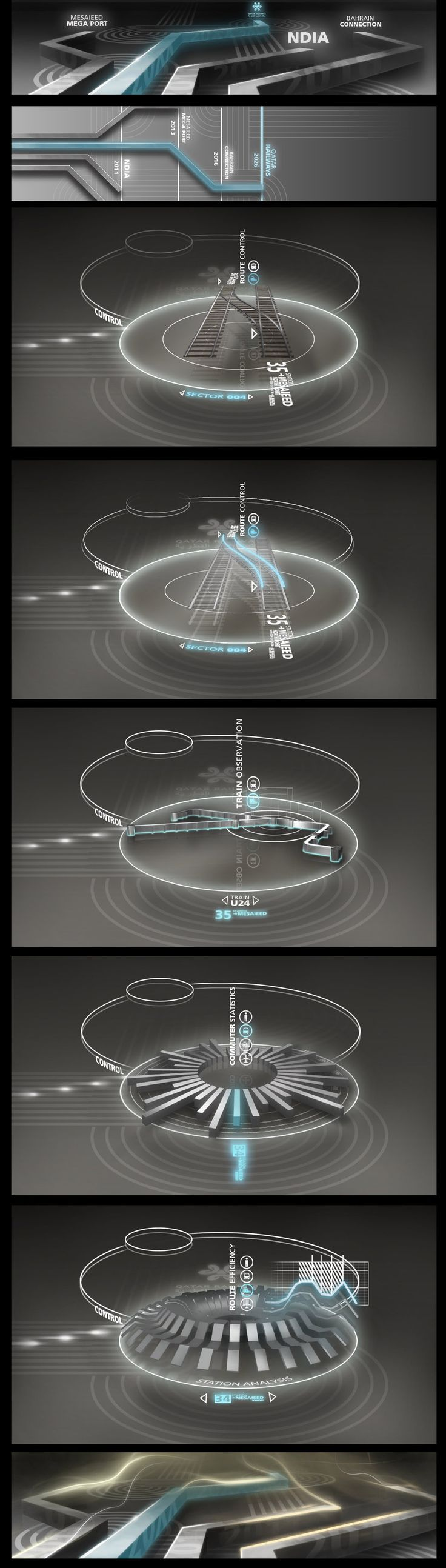 Touchscreen interface concept by stereolize-design
