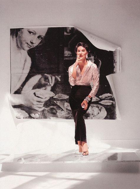 Ciao Bellissima - Vintage Glam; Vogue October 1954