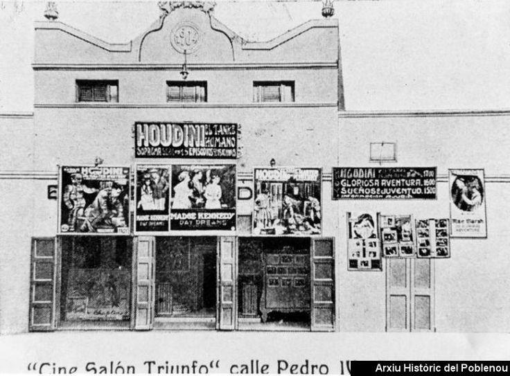 Cine Triunfo [1905] Façana del Salón Cine Triunfo.