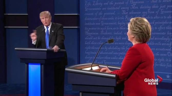 """Hillary Clinton described the Trans-Pacific Partnership the """"gold standard"""" of trade agreements. How did her claim stack up against the facts? Trump vs. Clinton debate: Fact check on Hillary Clinton calling TPP 'the gold standard' http://globalnews.ca/news/2965578/trump-vs-clinton-debate-fact-check-on-hillary-clinton-calling-tpp-the-gold-standard/"""