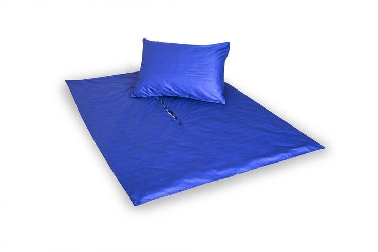 Holey Quilt® Zipper Bavlna Deluxe  Delta dark blue 140x200, 70x90cm