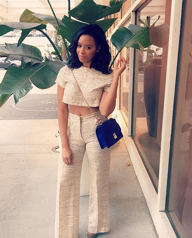 Vanessa Simmons- OMG this outfit is sooo damn fly!!!