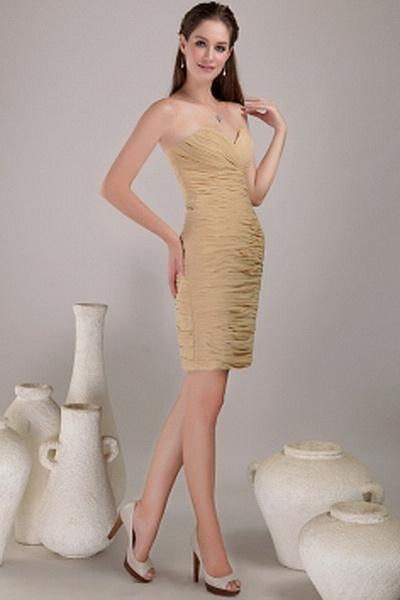 Mantel / Spalte V-Ausschnitt Chiffon-Abschlussball Kleider kv0781 - Silhouette: Mantel / Spalte; Stoff: Chiffon, Verzierungen: Rüschen, Länge: Kurz - Price: 131.2100 - Link: http://www.kleiderverkaufen.de/mantel-spalte-v-ausschnitt-chiffon-abschlussball-k