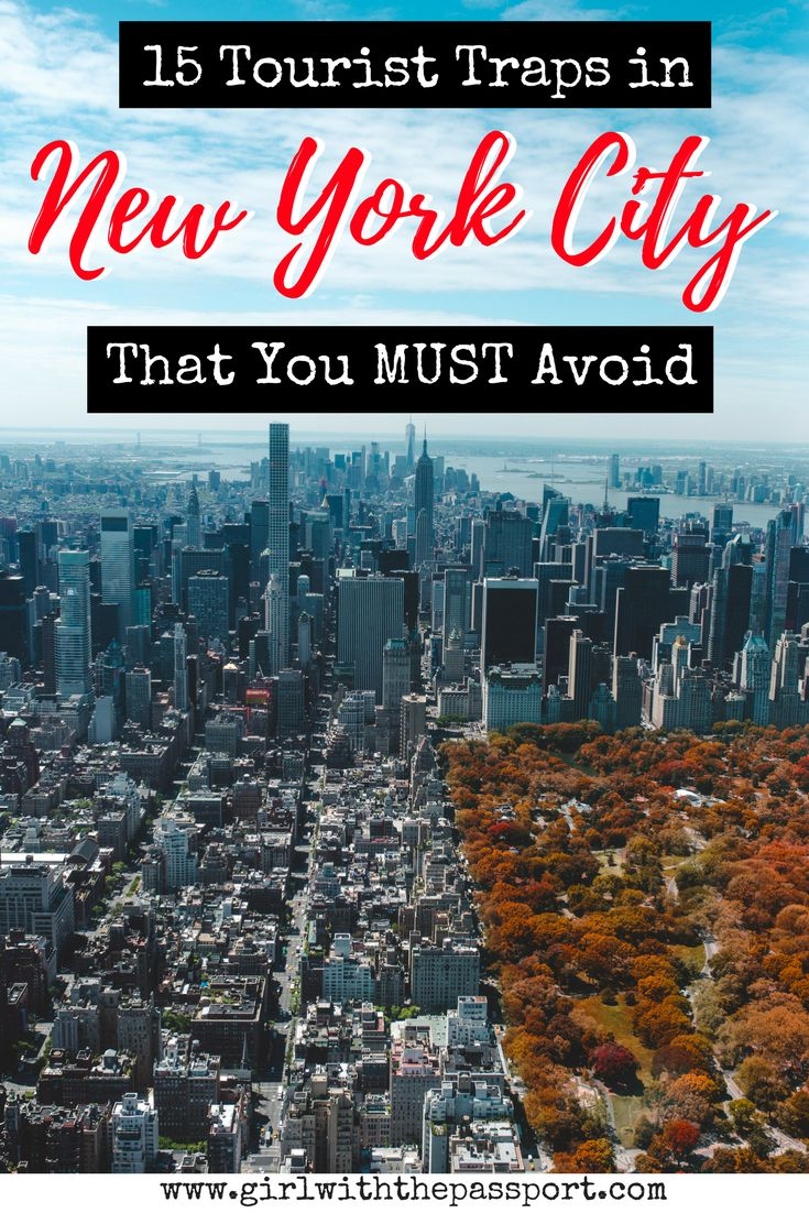 If you are planning some New York City travel, then I bet you are looking for some great New York City things to do. Well, this article will detail all the New York City tourist traps that many tourists​ fall for on their New York City vacation.