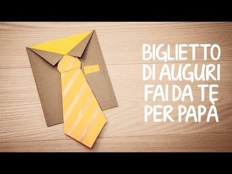 Video tutorial per realizzare un biglietto di auguri fai da te per la Festa del papà. Materiale necessario: - cartoncino; - carta velina: - pennello; - tempe...