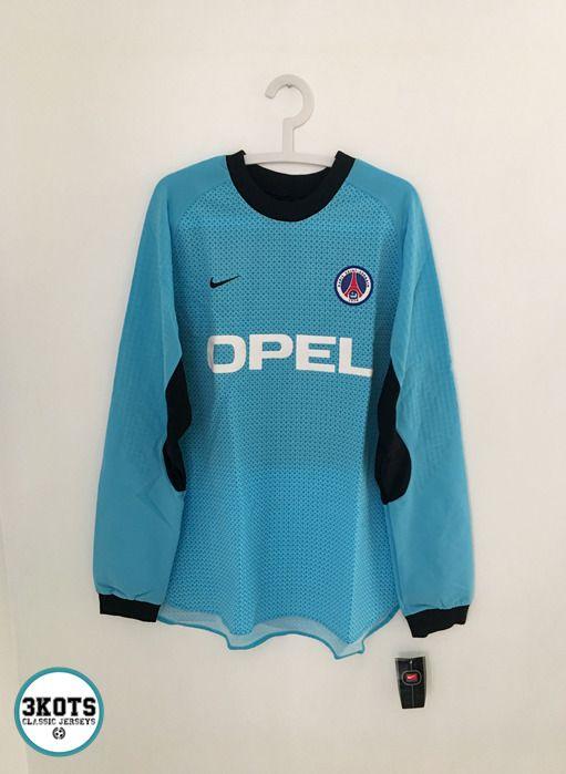 5acbc02eb eBay  Sponsored PSG Paris Saint Germain 2000 Goalkeeper Football Shirt XL Soccer  GK Jersey NIKE