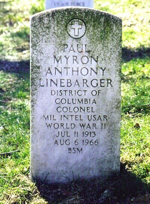 Paul Myron Anthony Linebarger, Jr., aka Cordwainer Smith