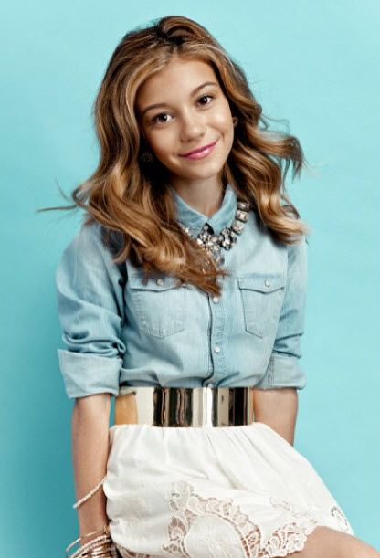 Dog with a Blog Disney Avery photoshoot | hannelius photo shoot june 3 More Photo Shoot Pics From G Hannelius ...