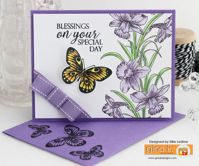 Delightful Card Making Ideas Gina K Part - 14: GINA K. DESIGNS APRIL RELEASE. Card BirthdayGreeting Cards ...