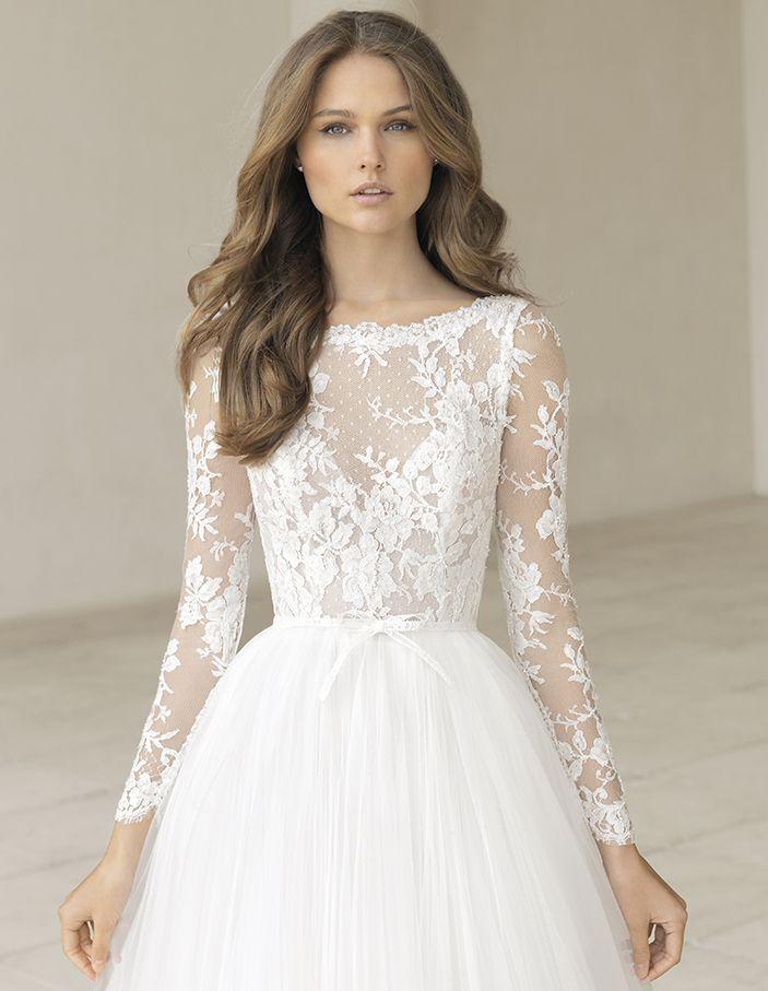 Wedding Dresses New 2020 Collection Rosa Clara Wedding Dresses Wedding Dresses Wedding Dress Long Sleeve