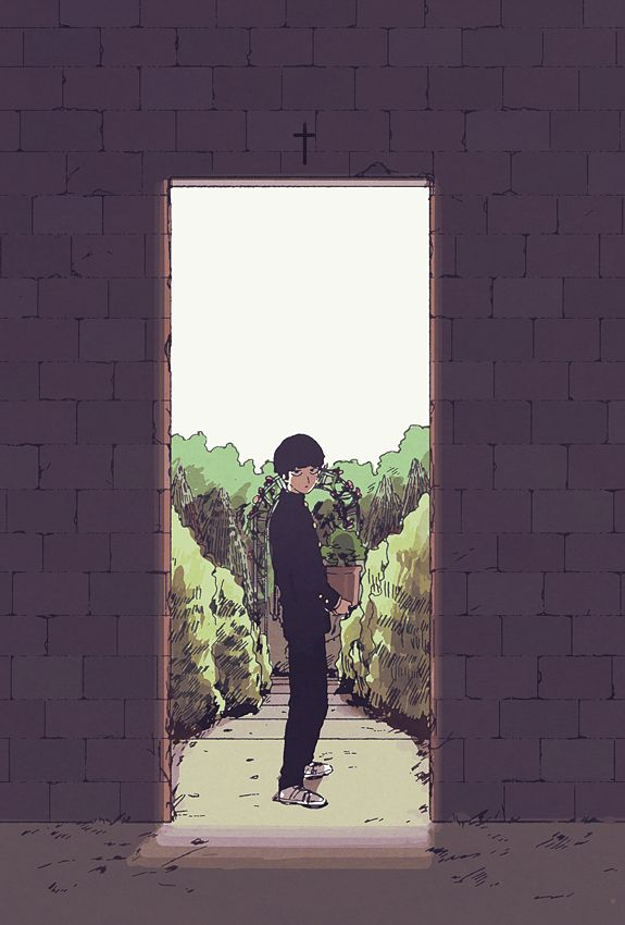 #Mob #Psycho #100 // love this fanart soo muchhh. Cr. to owner.