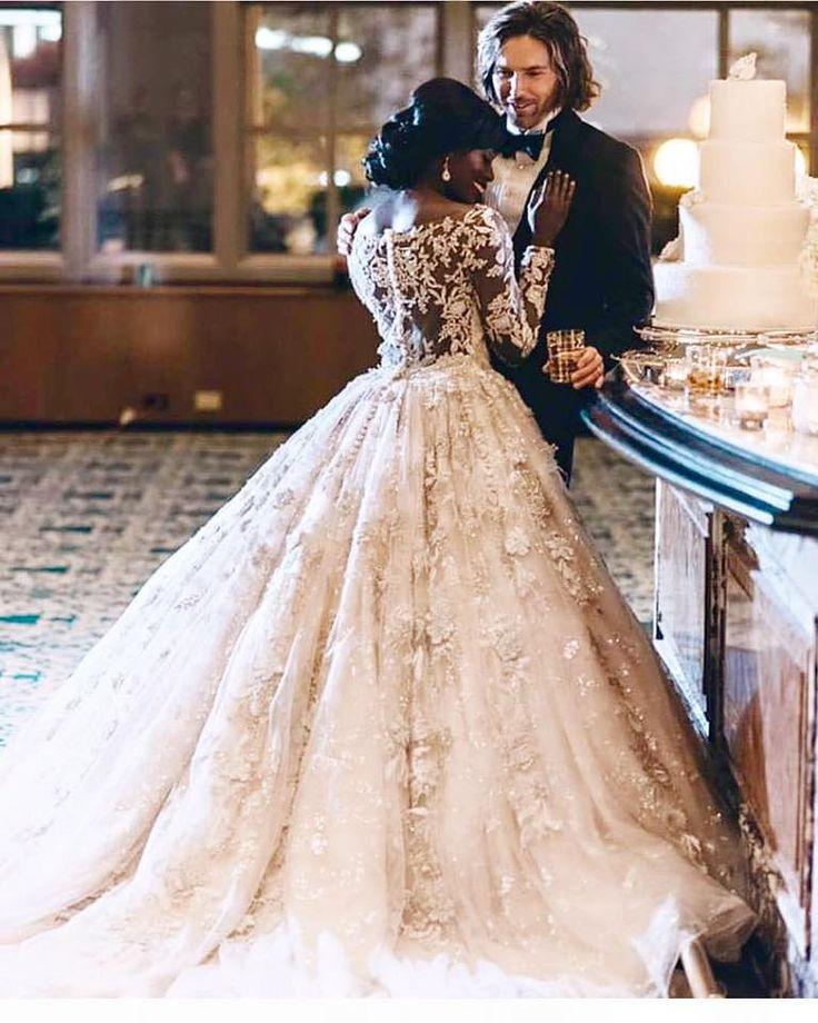 Modern Western/Nigerian Wedding..... Gorgeous  #LoveCrossesBorders #NigerianWeddings