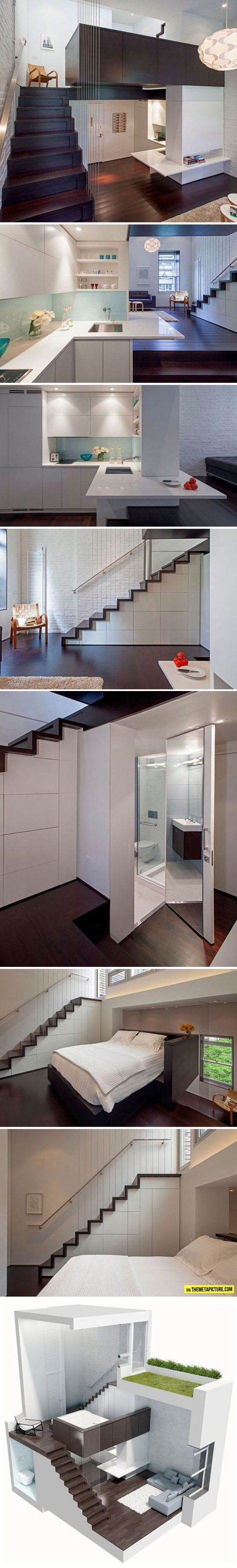 43 best Mezzanines images on Pinterest | Small spaces, Attic ...