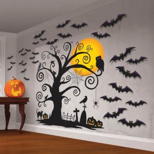family friendly halloween scene setter value pack halloween stuffhalloween craftshalloween
