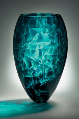 848 best images about art all things glass on pinterest for Objet deco turquoise