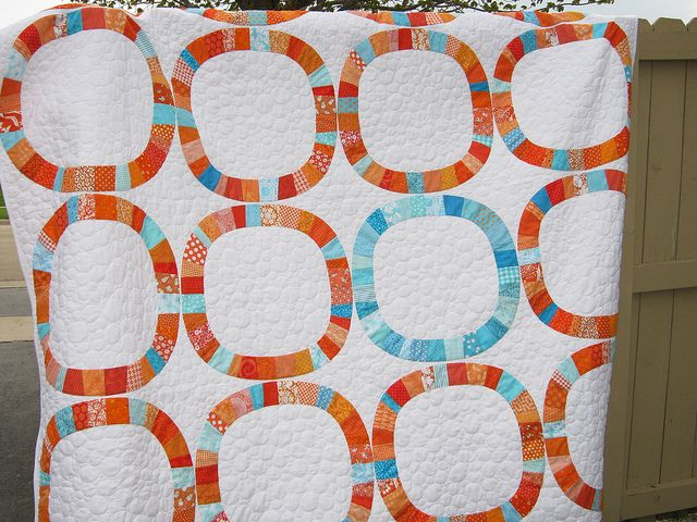 41 best Inspiration for Single Girl quilt images on Pinterest ... : single wedding ring quilt pattern - Adamdwight.com