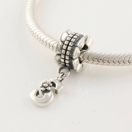 Lily Jewelry Crazy Clip 925 Sterling Silver Bead Fits Pandora Charm Bracelet
