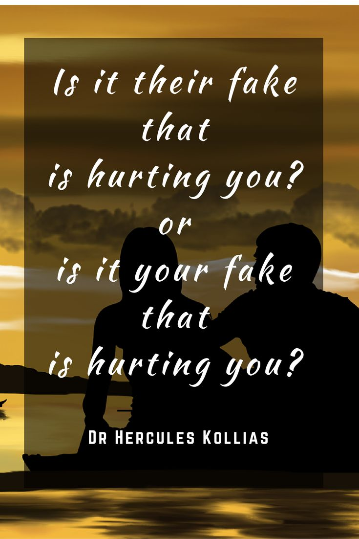 Is it their fake that is hurting you or is your fake Dr Hercules Kollias…