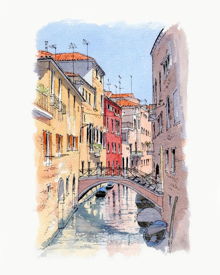 месту итальянский город рисунок сайт предлагает